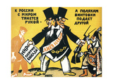 Satirical Poster on the League of Nations  1920