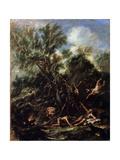 The Temptation of Saint Anthony  C1706-C1707