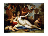 Bacchante and Satyrs  C1713