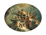 The Glorification of St Sebastian  Late 17Th/Early 18th Century