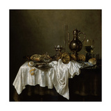 Breakfast with a Lobster  Dutch Painting of 17th Century