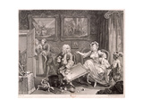 In High Keeping by a Jew  Plate II of the Harlot's Progress  1732