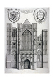 Westminster Abbey  London  C1650