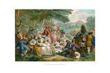 Hunt Breakfast  1737
