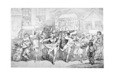 Ragged Musicians and Dancers  1791