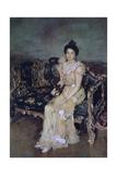 Portrait of Sofia Mikhailovna Botkina  1899