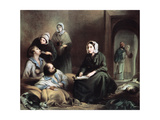 Florence Nightingale  British Nurse and Hospital Reformer  at Scutari Hospital  Turkey  1855