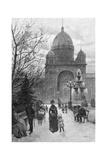 The Carlton Gardens  Melbourne  1886