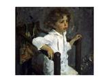 Portrait of Mika Morosov  1901