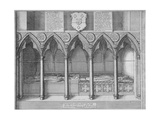 Tombs of Two Bishops of London in Old St Paul's Cathedral  City of London  1656