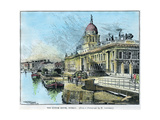 The Custom House  Dublin  Ireland  C1890