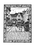 Kelmscott Manor  Gloucestershire  Frontispiece to News from Nowhere  C1892