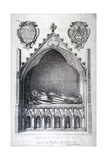 The Tomb of Avaline  Countess of Lancaster  Westminster Abbey  London  1666