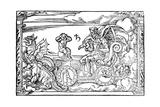 Saturn  Roman God of Time  1569