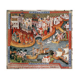 Marco Polo Sailing from Venice in 1271
