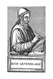 The Venerable Bede (C673-73)  Anglo-Saxon Theologian  Scholar and Historian  C1584