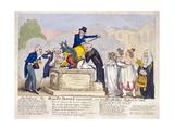 Scene at Horse Guards Parade  London  1816