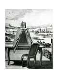 Portable Tent Type of Camera Obscura  1764