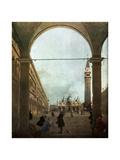 The Piazza  Venice  C1756