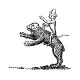 Bear and Monkey  13th Century