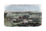Night of the Battle Cedar Mountain  Culpeper County  Virginia  American Civil War  9 August 1862