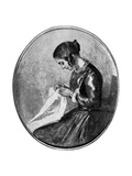 Miss Georgina Hogarth  C1850