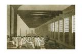 Interior of the Cloth Hall  Leeds  1814