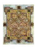 The Eight Circled Cross, 800 Ad Giclée