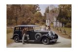 Poster Advertising Rolls-Royce Cars  1939