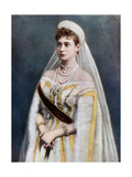 Tsarina Alexandra  Empress Consort of Russia  Late 19th-Early 20th Century
