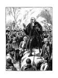 John Wesley  18th Century English Non-Conformist Preacher  1888