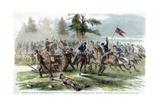 Capture of Confederate Guns  Near Culpeper  Virginia  American Civil War  14 September 1863