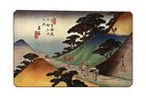 Tsumagome, 1830S Giclée par Ando Hiroshige