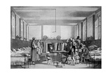 The Royal Visit to Brompton Hospital  1850s