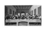 The Last Supper, 1498 Giclée par E Foutana