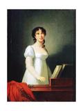 Portrait of the Italian Singer Angelika Catalani (1780-184)  18th Century