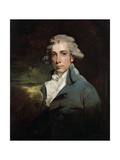 Portrait of the Playwright and Whig Statesman Richard Brinsley Sheridan  (1751-181)