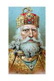Charlemagne  King of the Franks  C1920