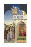 Saint Francis and the Poor Knight  and Francis's Vision  1437-1444