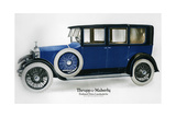Rolls-Royce Enclosed Drive Landaulette with Partition Behind the Driver  C1910-1929