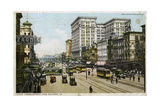 Canal Street  New Orleans  USA  C1912
