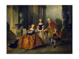 Scene from the Tragedy Le Comte D'Essex by Thomas Corneille  1734