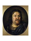Portrait of Senator Prince Yakov Fyodorovich Dolgorukov  (1639-172)  1687