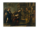 Raguel's Blessing of Her Daughter Sarah before Leaving Ecbatana with Tobias  C 1640