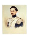 Portrait of Adolphe I  Duke of Nassau  Grand Duke of Luxembourg (1817-190)  1840S