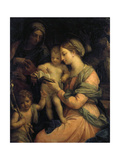 Madonna Teaching the Infant Christ Reading  1705