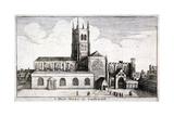St Mary Overie's Church  Southwark  London  1647