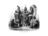 A Group of Sioux Indians  1872