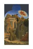 The Stigmatisation of Saint Francis (From Borgo Del Santo Sepolcro Altarpiec)  1437-1444