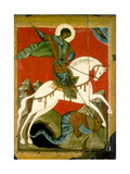 Saint George and the Dragon  Late 14th Century